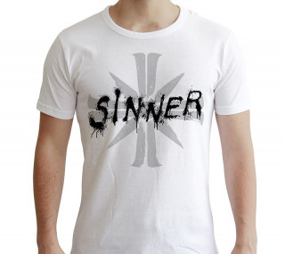 FAR CRY - Tshirt - Póló - Sinner - man SS white - new fit (S-es méret)