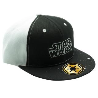 STAR WARS - Snapback Sapka -  Logo - Fekete-Fehér