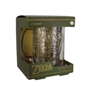 ZELDA - Üvegpohár - Shield Ajándéktárgyak