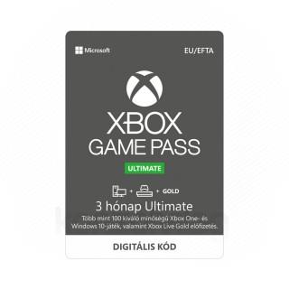 Xbox Game Pass Ultimate 3 hónapos előfizetés (DIGITÁLIS KÓD) (Letölthető) XBOX ONE