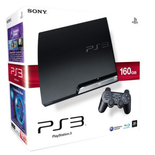 Playstation 3 (PS3 Slim) 160 GB (használt) PS3