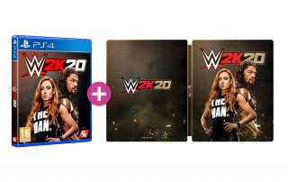 WWE 2K20 Steelbook Edition PS4