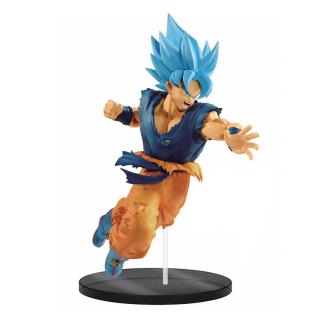 DRAGON BALL - Collection Figurine Super Saiyan God Son Goku 20 cm - Figura AJÁNDÉKTÁRGY