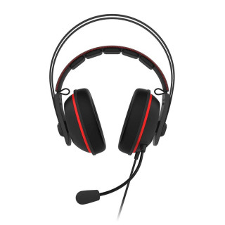 ASUS TUF GAMING H7 CORE Fekete-piros Gamer Headset (90YH01QR-B1UA00)