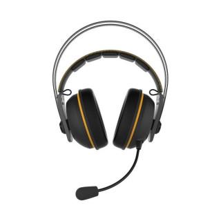 ASUS TUF GAMING H7 Fekete-sárga wireless Gamer Headset PC