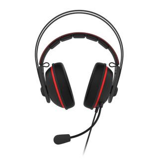 ASUS TUF GAMING H7 Fekete-piros Gamer Headset PC