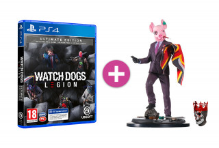 Watch Dogs Legion Ultimate Edition + Resistant of London szobor PS4