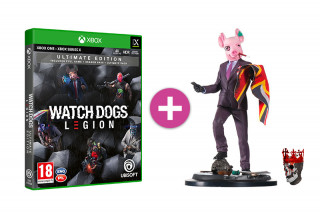 Watch Dogs Legion Ultimate Edition + Resistant of London szobor