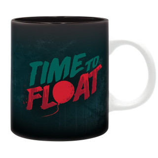 IT - Mug - 320 ml - Time to Float - subli - With box - Bögre AJÁNDÉKTÁRGY