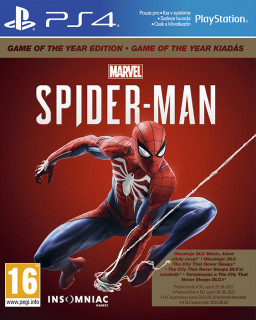 Marvel's Spider-Man Game of The Year Edition (magyar felirattal) PS4