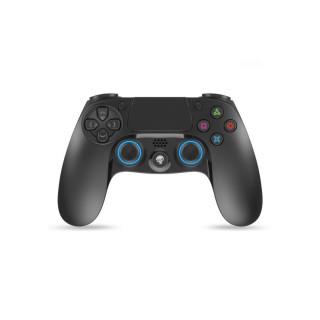 Spirit of Gamer Gamepad Vezeték Nélküli - XGP Bluetooth PS4 (USB, Vibration, PC/PS4/PS3 kompatibilis, fekete-kék) PC