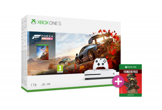 Xbox One S 1TB + Forza Horizon 4 + Apex Legends Founders Pack XBOX ONE