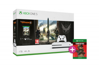 Xbox One S 1TB + The Division 2 + Apex Legends Founders Pack XBOX ONE