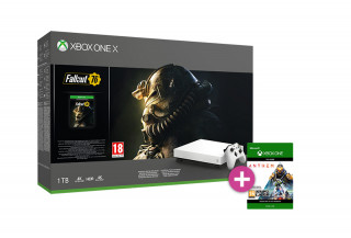 Xbox One X 1TB Robot White Special Edition + Fallout 76 + Anthem XBOX ONE