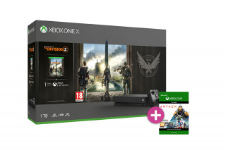 Xbox One X 1TB + Tom Clancy's The Division 2 + Anthem XBOX ONE