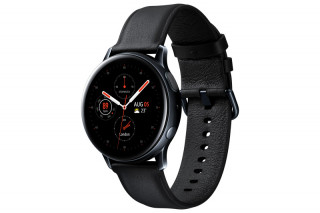Samsung Galaxy Watch Active2 (40mm, SS) Black (SM-R830NSKAXEH) Mobil