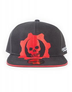Gears of War Red Helmet Snapback - Sapka AJÁNDÉKTÁRGY