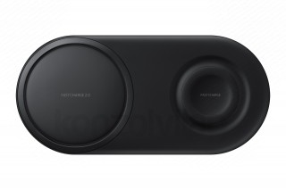 Samsung EP-P5200TBEG Wireless Charger Duo Pad Mobil