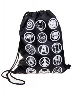 MARVEL - Infinity War Badges Gym Bag - Good Loot - tornazsák