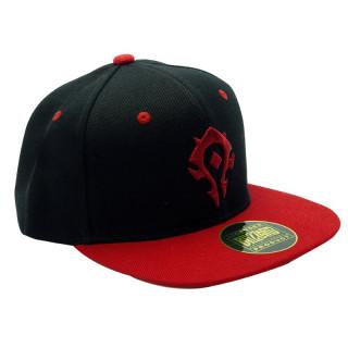 WORLD OF WARCRAFT - Snapback Cap - Black & Red - Horde - Sapka AJÁNDÉKTÁRGY