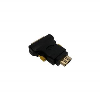Equip Átalakító - 118908 (HDMI-DVI(24+5), anya/apa, fekete) PC