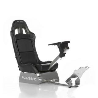 Playseat® Szimulátor cockpit - Revolution Black (Tartó konzolok: kormány, pedál, összecsukható, fekete) PC