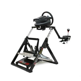 Next Level Racing Szimulátor állvány - Racing Wheel Stand (összecsukható; tartó konzolok kormányhoz, váltóhoz, pedálhoz)