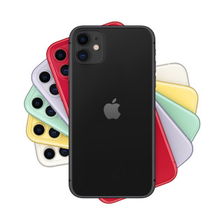 iPhone 11 64GB Fekete Mobil
