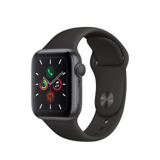 Apple Watch Series 5 GPS, 40m Asztroszürke alumíniumtok fekete sportszíjjal Mobil