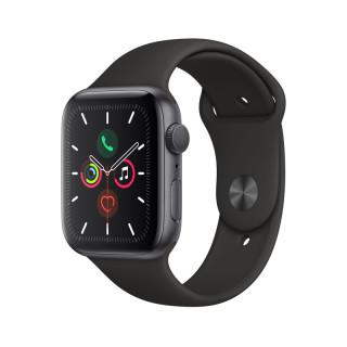 Apple Watch Series 5 GPS, 44mm Asztroszürke alumíniumtok fekete sportszíjjal Mobil