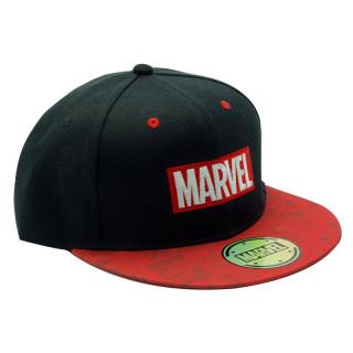 MARVEL - Snapback Cap - Black & Red - Logo - Sapka
