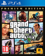 Grand Theft Auto V Premium Edition (GTA 5) PS4