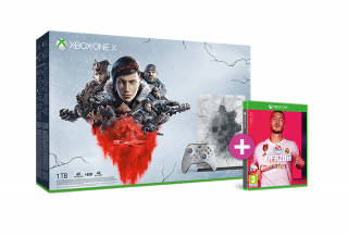 Xbox One X 1TB + Gears 5 Limited Edition + FIFA 20 XBOX ONE