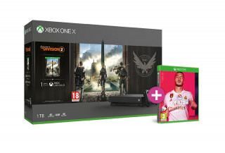 Xbox One X 1TB + Tom Clancy's The Division 2 + FIFA 20 XBOX ONE