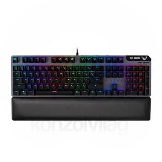 Asus TUF Gaming K7 Magyar Gamer billentyűzet (ASUS promóció választható ajándék) PC