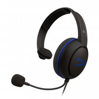 HyperX Cloud Chat (PS4 Licensed) Fekete 3,5 Jack gamer headset (HX-HSCCHS-BK/EM)