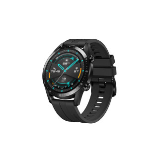 Huawei Watch GT 2 Sportóra ( 46mm ) Fekete szilikon Mobil