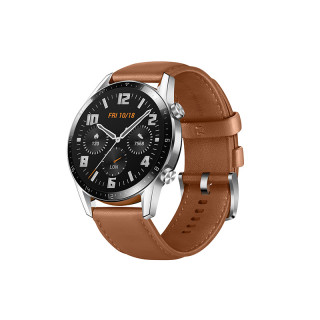Huawei Watch GT 2 sportóra ( 46 mm férfi ) Barna bőr Mobil