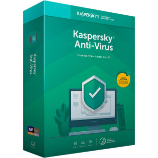 Kaspersky Anti-Virus(2 eszköz 1 év) (Letöltőkód) PC