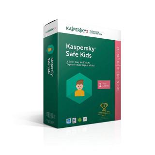 Kaspersky Safe Kids(1 eszköz 1 év) (Letöltőkód)