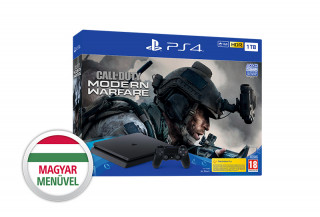 PlayStation 4 (PS4) Slim 1TB + Call of Duty Modern Warfare (2019) PS4