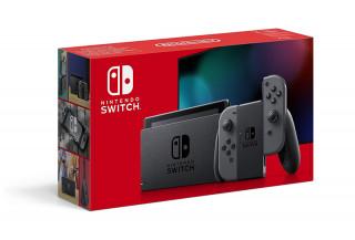 Nintendo Switch (Szürke) (Új)