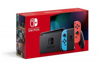 Nintendo Switch (Piros-Kék) (Új)