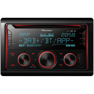 Pioneer FH-S820DAB CD/DAB+/Bluetooth/USB/AUX autóhifi fejegység