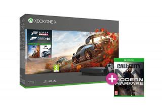 Xbox One X 1TB + Forza Horizon 4 + Forza Motorsport 7 + Call of Duty: Modern Warfare (2019) XBOX ONE