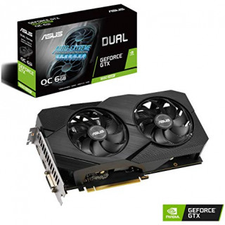 ASUS DUAL-GTX1660S-O6G-EVO nVidia 6GB GDDR5 192bit PCIe videókártya PC