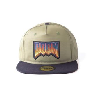 Doom Eternal Retro Logo Snapback Sapka  AJÁNDÉKTÁRGY
