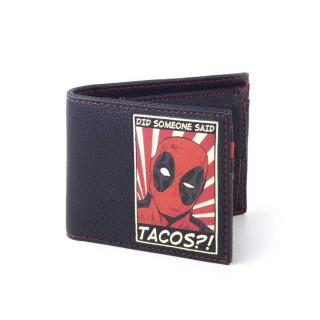 Marvel Deadpool Tacos Pénztárca AJÁNDÉKTÁRGY
