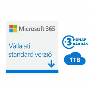 Microsoft Office 365 Vállalati Prémium előfizetés (Letölthető) (KLQ-00211) PC