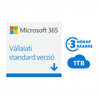 Microsoft 365 Vállalati standard verzió (Letölthető) (KLQ-00211)